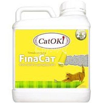 Catoki Arena de gatos Finacat Garrafa 6,36 kg