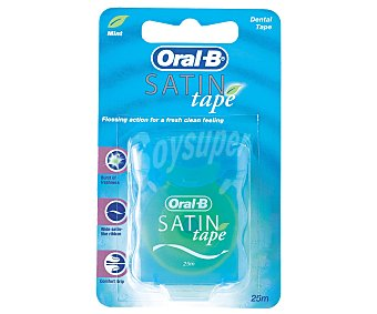 SATINTape de ORAL B Seda Dental 25 Metros
