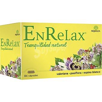 Aquilea EnRelax cápsulas relajantes con valeriana, pasiflora y espino blanco ápsulas caja 84 c