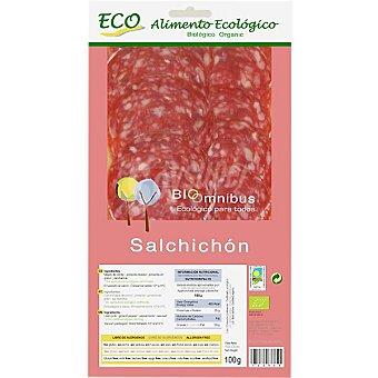 Bioomnibus Salchichón extra en lonchas alimento ecológico Envase 100 g