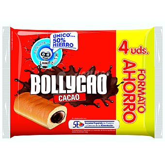 Bollycao Bollycao chocolate  4 unidades (240 g)
