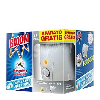 Bloom Insecticida eléctrico para mósquitos común y tigre perfumado Aparato + recambio