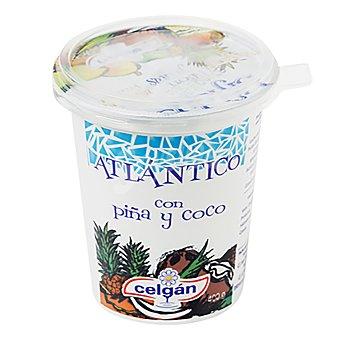 Celgán Yogur atlántico de piña y coco 400 g