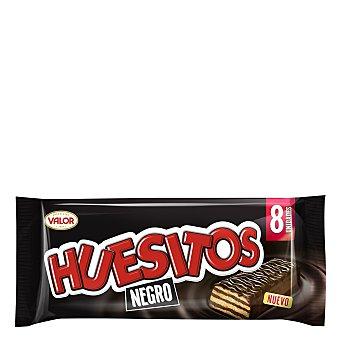 Huesitos Valor Barritas chocolate negro y rellenas de cacao 8 x 160 g