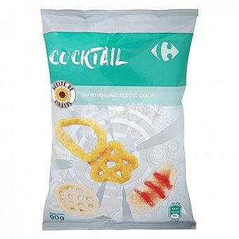 Carrefour Coktail de aperitivos de maíz 90 G 90 g