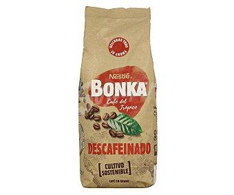 Bonka Nestlé Café del Trópico descafeinado en grano de cultivo sostenible Paquete 500 g