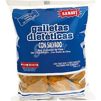 SANAVI Galletas con salvado Bolsa 300 g