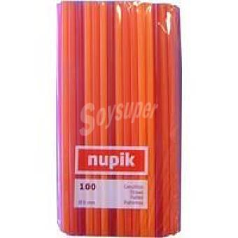 Nupik Canutillos Rigidos 100 unidades
