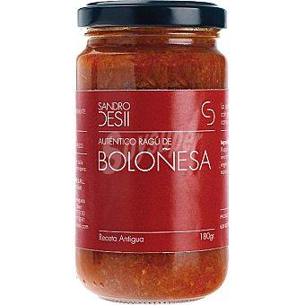 Sandro Desii Salsa boloñesa Frasco 180 g