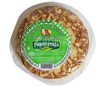 Fuentetaja Tortilla de Patata Tortiburger 160 Gramos
