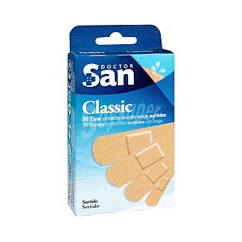 Doctor san Tiritas protectoras surtidas color piel Caja de 30 uds