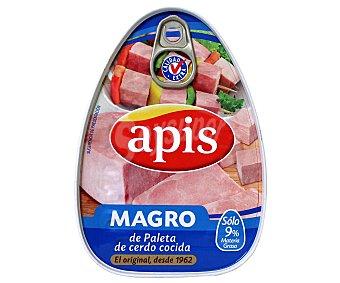Apis Magro de cerdo cocido Lata de 220 g