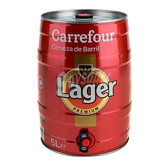 Carrefour Cerveza barril 5 l