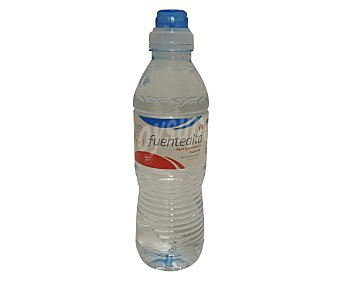 Fuentealta Agua mineral con tapón sport Botella de 33 centilítros