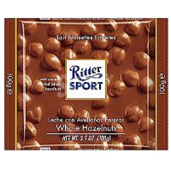 Ritter Sport Chocolatina con avellanas y pasas 100 Gr
