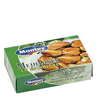 MONTEY Mejillones en escabeche 115 g