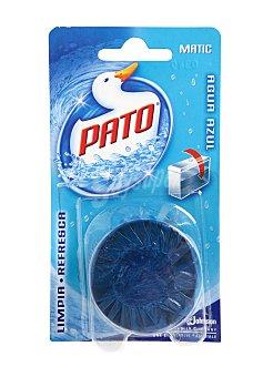 Pato Desodorizante cisterna en pastilla agua Azul 1 ud