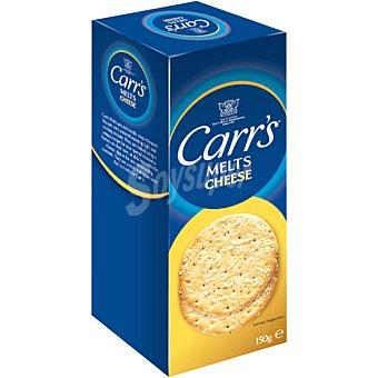 CARR'S Melts Crackers sabor queso Estuche 150 g