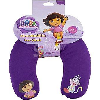 Dora Exploradora Cojín cervical en color morado