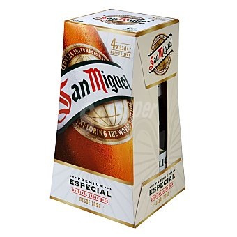 San Miguel Cerveza especial Pack 4x33 cl