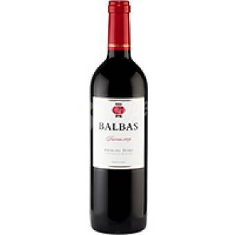 Balbas Vino Tinto R. del Duero Botella 75 cl