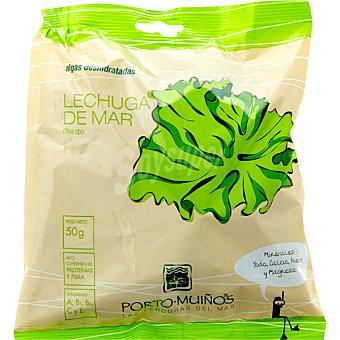 Porto Muiños Algas deshidratadas Lechuga de Mar Bolsa 50 g