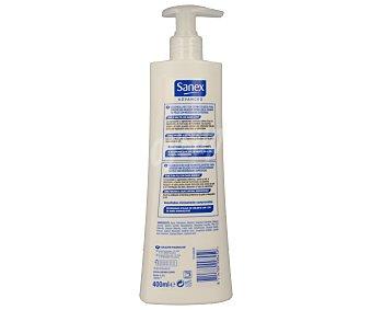 Sanex Loción corporal Advanced Dermo Restore para pieles secas y pieles con daños leves Dosificador de 400 ml
