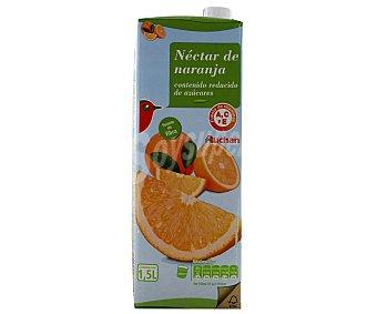 Auchan Néctar de naranja bajo contenido en azúcares 1,5 litros
