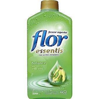 Flor Suavizante concentrado frescor balance aloe vera Botella 40 dosis