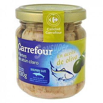 Carrefour Atún claro en aceite de oliva 130 G 130 g