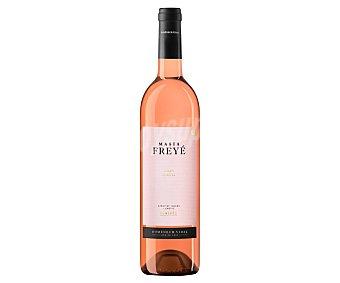 MASÍA FREYE Vino rosado con denominación de origen Penedés botella de 75 centilitros