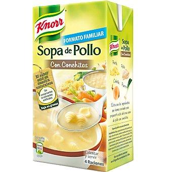 Knorr Sopa de pollo conchitas Brik 1 litro