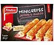 Mini crepes de jamón-queso Caja 250 g Findus