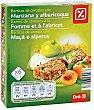 Barritas de cereales con manzana y albaricoque Estuche 150 gr DIA