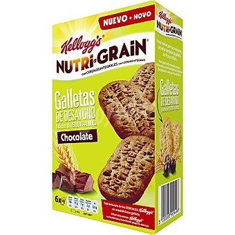 Nutri Grain Kellogg's Nutri Grain galletas de chocolate 6 bolsitas con 4 unidades