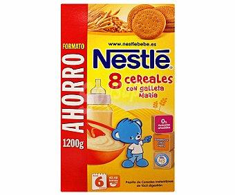 Nestlé Papilla 8 Cereales con galleta María 1200 Gramos