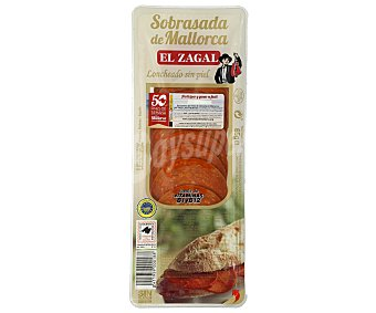 El Zagal Sobrasada de Mallorca en lonchas Sobre 65 g
