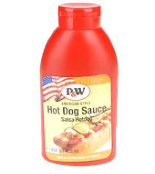P&W Salsa Hot Dog 450 ml