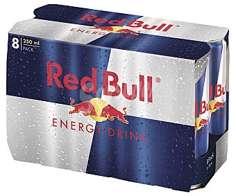 Red Bull Bebida energética Pack 8 uds. x 250 ml