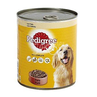 Pedigree Alimento húmedo para perro con pollo especial adulto Lata 800 g