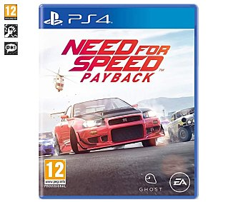 Electronic Arts Videojuego Need for Speed Payback para playstation 4. Género: Conducción. pegi: +12 Need for Speed Payback PS4