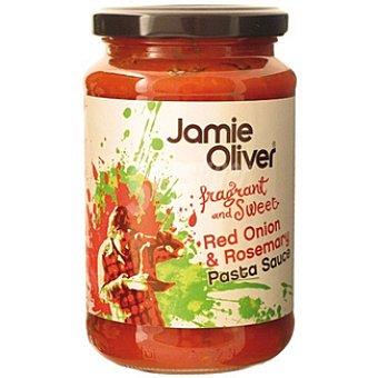 JAMIE OLIVER Salsa para pasta de cebolla roja y romero Frasco 350 g