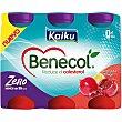 Yogur líquido sabor granada y limón Pack 6 unidades 65 ml Kaiku Benecol