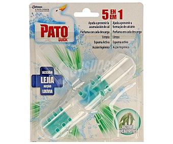 Pato Limpiador wc colgador 5en1 lejia Pack 1 unid