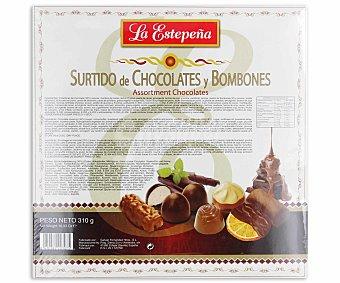 La Estepeña Surtido de chocolates y bombones Estuche 310 g