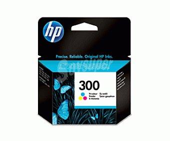 HP Cartuchos de Tinta 300 Color HP (CC643E) 1 Unidad - Compatible con las Impresoras: HP Deskjet D1660, D2560, D2660, D5560, F2420, F2480, F2492, F4210, F4224, F4272, F4280, F4580, 1 Unidad
