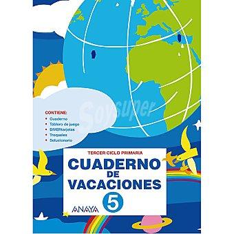 ANAYA Cuaderno de vacaciones repaso 5º primaria