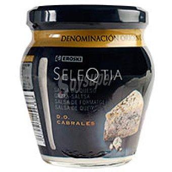 Eroski Seleqtia Salsa de queso de cabrales Tarro 212 g