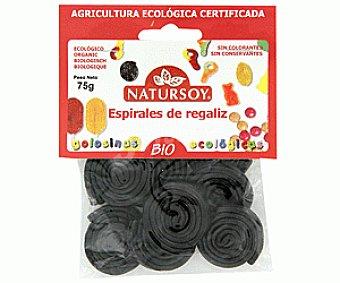 Natursoy Regaliz Espiral 75 Gramos