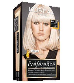 Preference L'Oréal Paris Tinte nº 10.21 Stockholm 1 ud